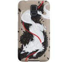 WHITE FOX RIBBONS  Samsung Galaxy Case/Skin