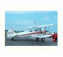 Stearman Super Stearman - Rare Aircraft / Airplane Photograph Art Print