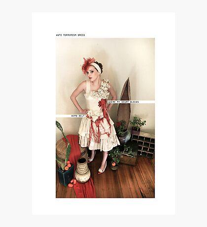 ANTI TERRORISM DRESS Photographic Print