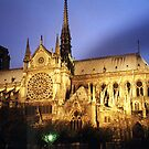 Notre Dame Cathredral, Paris at Sunset by Joseph Rieg