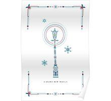 Narnia Christmas Poster