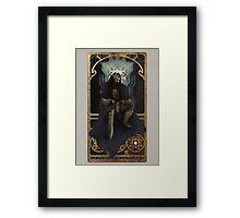 Art Nouveau Thorin Oakenshield Framed Print