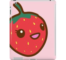 Kawaii Strawberry iPad Case/Skin