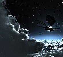 Moon Light Flight by Walter Colvin