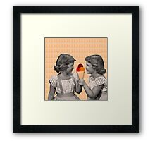 It's all about sharing Framed Print