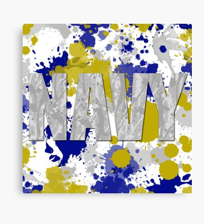 US Navy Canvas Print