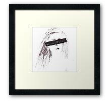 We are all broken Framed Print