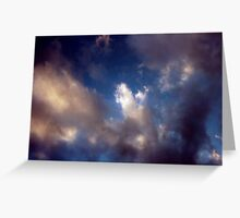 High Sierra Storm Greeting Card