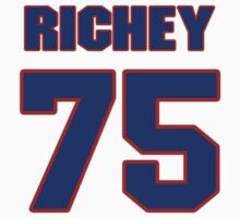 National football player Mike Richey jersey 75 by imsport