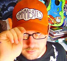 hmmmbates logo cap and timmi by hmmmbates