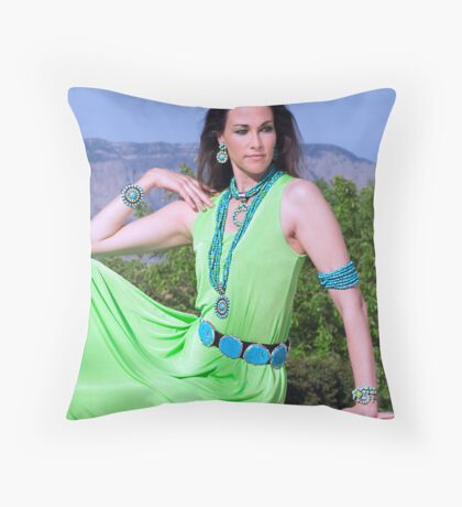 Fashion Shoot II Throw Pillow