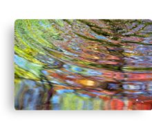 h2o distortion no. 4 (2013) Canvas Print