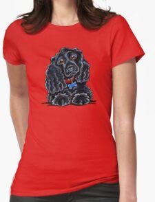 Cocker Spaniel Fitz Womens Fitted T-Shirt