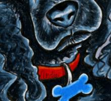 Cocker Spaniel Fitz Sticker