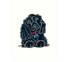 Cocker Spaniel Fitz Art Print