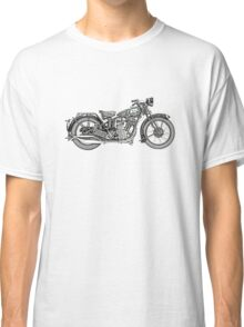 1929 BSA Sloper Motorcycle Classic T-Shirt