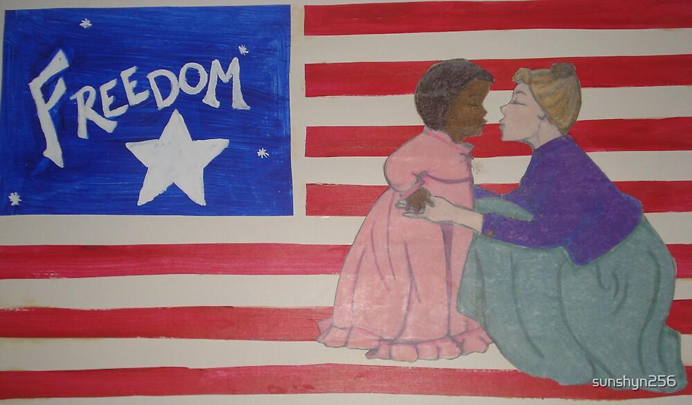 Freedom Flag by sunshyn256