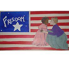 Freedom Flag Photographic Print