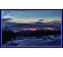 Daybreak Across the Valley Photographic Print