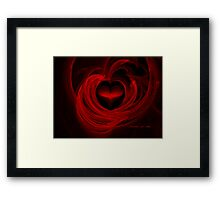 LOVE & DESIRE Framed Print