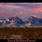 Glow on SaddleBack Mountain by StarshinePhoto