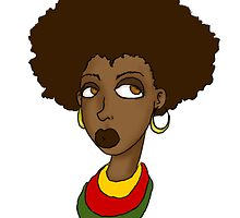 AfroCute by venonded