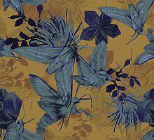 Heteroceras - Velvet Moths Pattern by lascarlatte