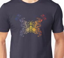 Abstract multicolored butterfly 2 Unisex T-Shirt