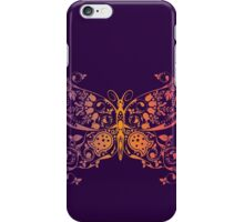 Abstract multicolored butterfly 3 iPhone Case/Skin