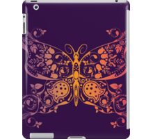 Abstract multicolored butterfly 3 iPad Case/Skin
