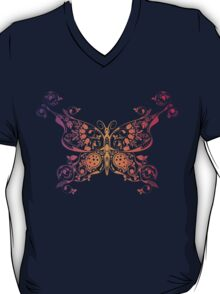 Abstract multicolored butterfly 3 T-Shirt