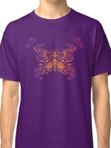 Abstract multicolored butterfly 3 Classic T-Shirt