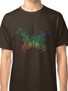 Abstract multicolored butterfly 4 Classic T-Shirt