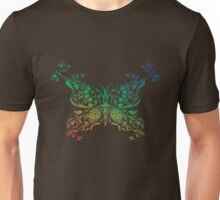 Abstract multicolored butterfly 4 Unisex T-Shirt
