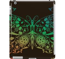 Abstract multicolored butterfly 4 iPad Case/Skin