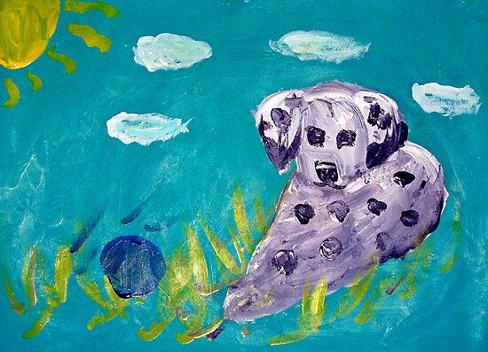 Dalmation Puppy - Rhian by John Brotheridge
