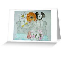 Bedtime Teddies - Hannah B Greeting Card