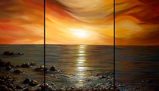 Atlantic Sunrise by Cherie Roe Dirksen