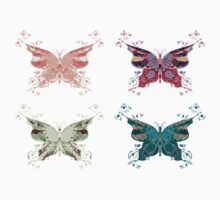 Colored butterflies 2 Kids Clothes