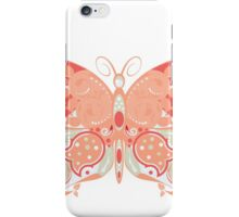 Colorful Butterfly 4 iPhone Case/Skin