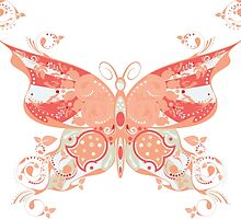 Colorful Butterfly 4 by AnnArtshock