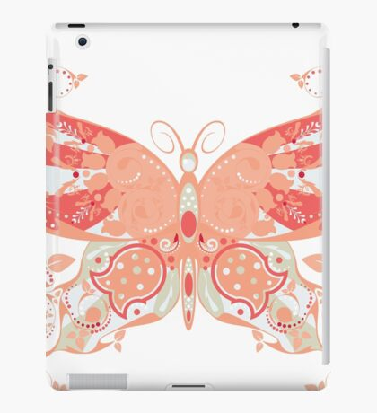 Colorful Butterfly 4 iPad Case/Skin