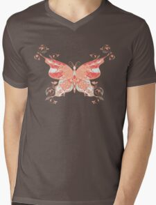 Colorful Butterfly 4 Mens V-Neck T-Shirt