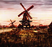 windmill by cynthiab