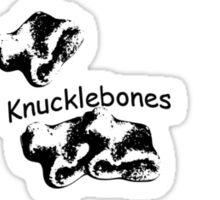 Knucklebones  Sticker