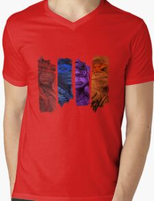 Ninja Turtles Mens V-Neck T-Shirt