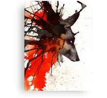 WOLF INK Canvas Print