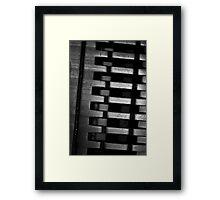 Hinge Framed Print