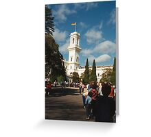 Parliament House, Melbourne; Australia Day Greeting Card