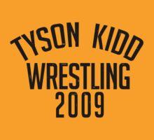 Tyson Kidd Wrestling by Drake Dean